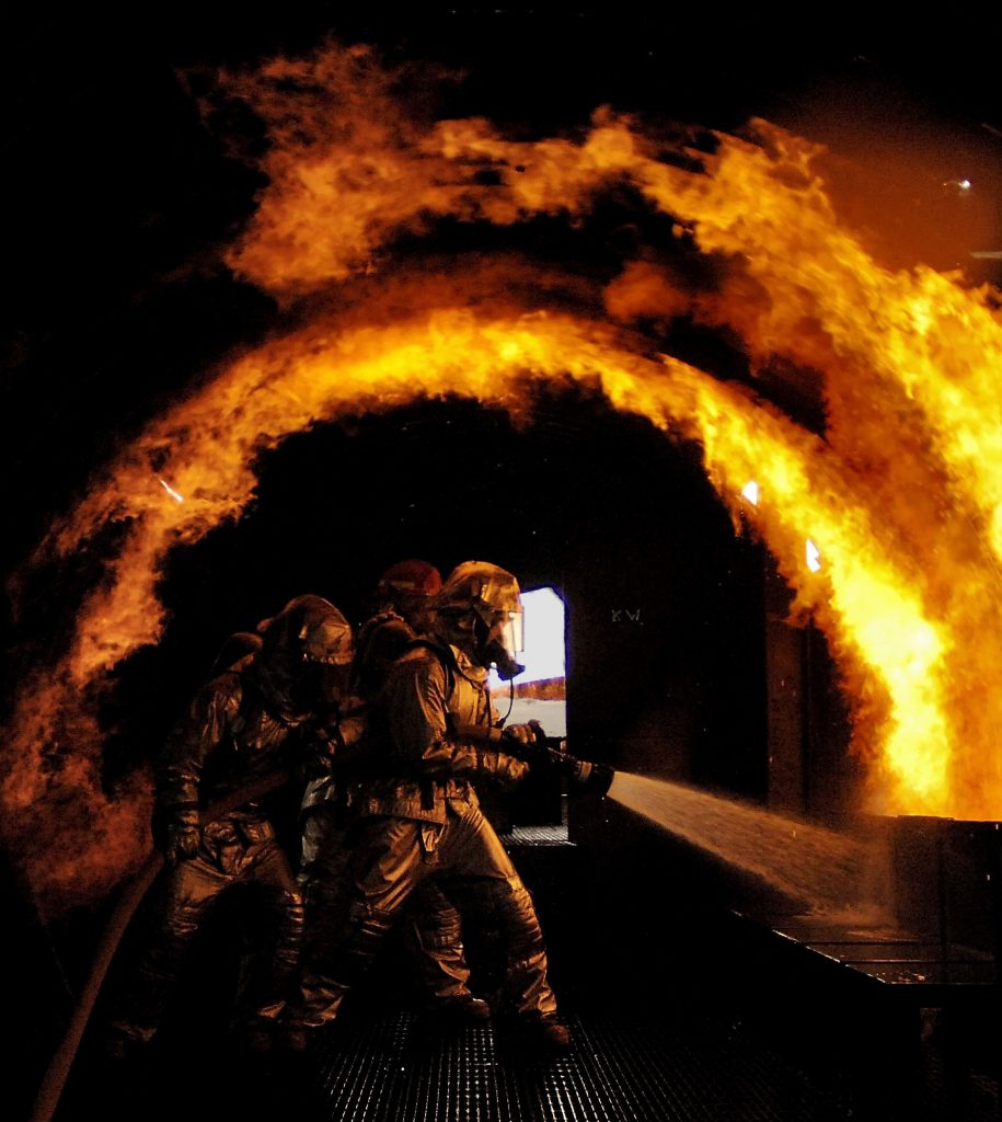 Dragon's Breath at Firefighter School, by Lance Cheung Creative Commons Licence