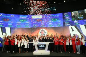 Walgreens Boots Alliance, Inc. rings opening bell at Nasdaq: WBA